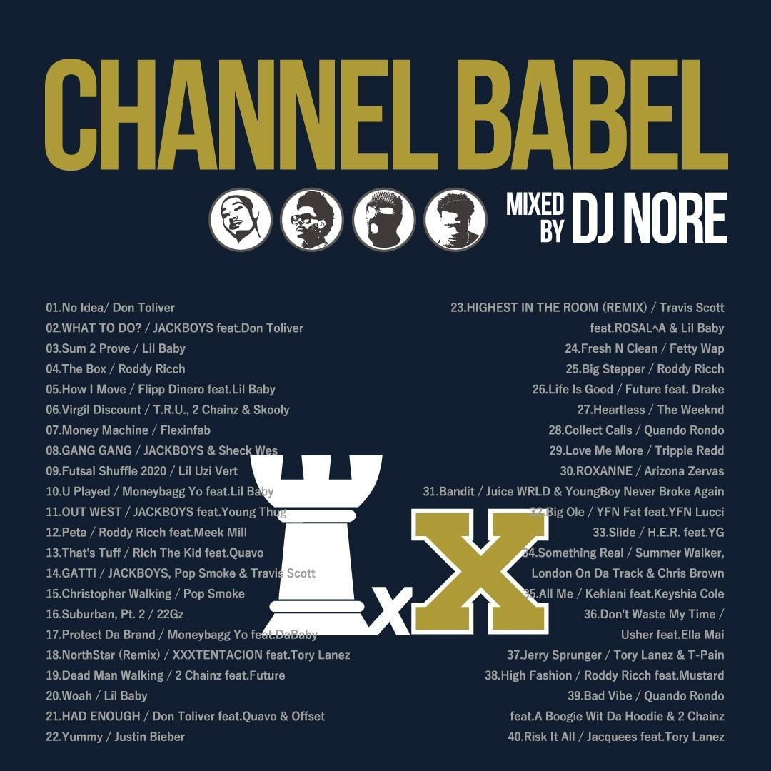 DJ NORE // CHANNEL BABEL 10 // BL004