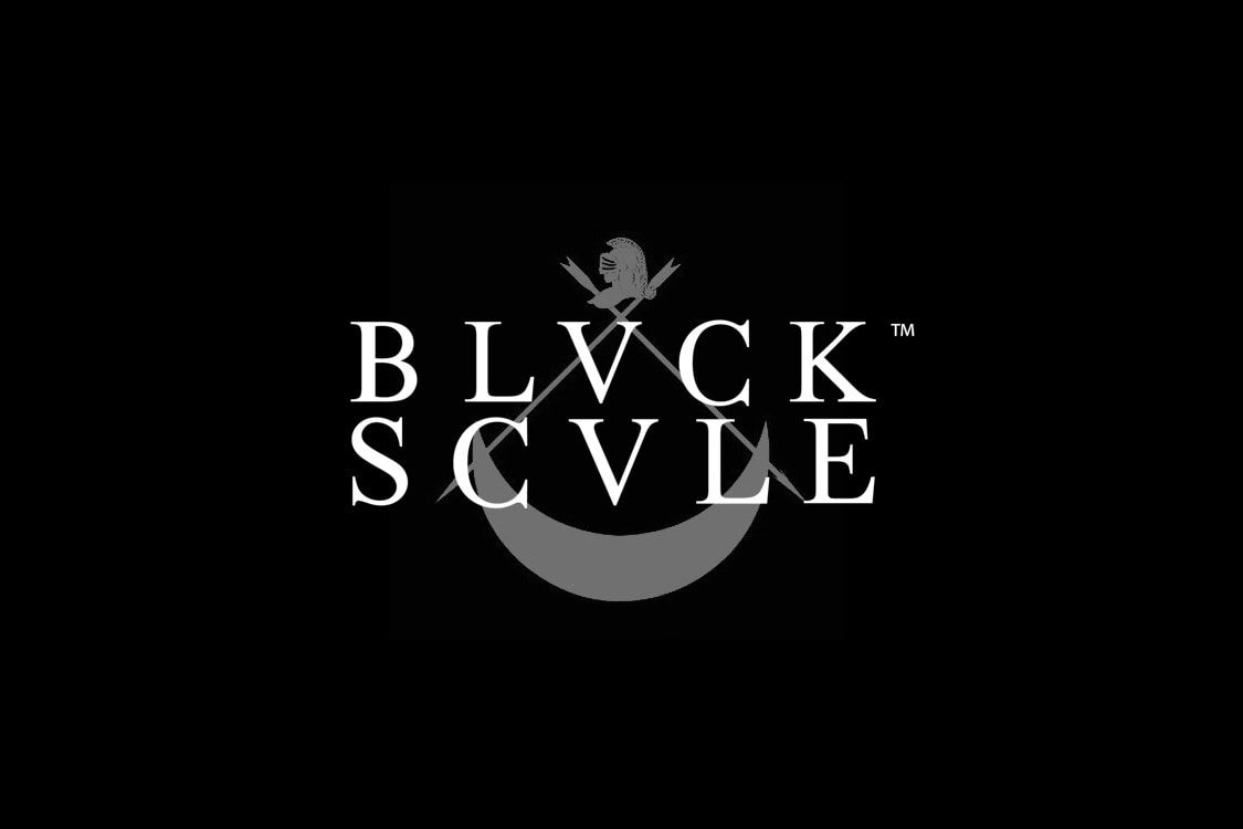 BLACK SCALE ロゴ