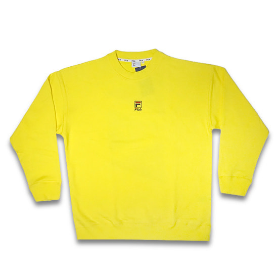 FILA トレーナー - CREW NECK SHIRT / BLAZING YELLOW -