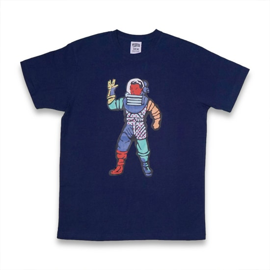 BILLIONAIRE BOYS CLUB Tシャツ -BB ASTRO PAINT T-SHIRTS / PATRIOT BLUE-