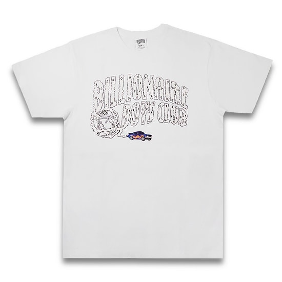 BILLIONAIRE BOYS CLUB Tシャツ -BB NITRO ARCHT-SHIRT / WHITE-