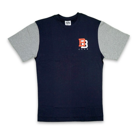 BILLIONAIRE BOYS CLUB Tシャツ -COLOR BLOCKED TEE / NAVY-
