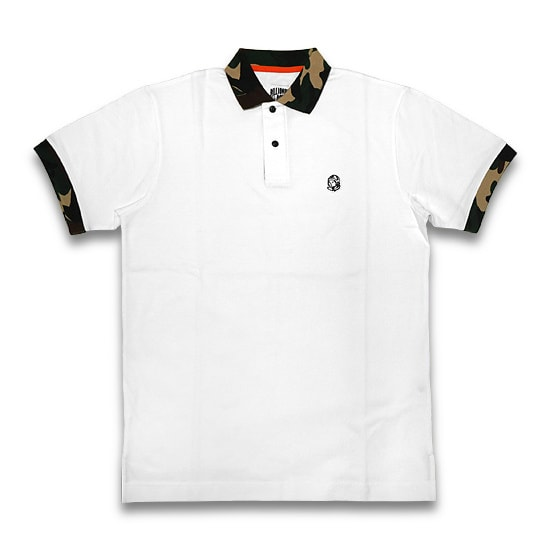 BILLIONAIRE BOYS CLUB ポロシャツ -BB PO-LOW POLO / WHITE-