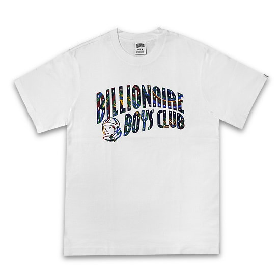 BILLIONAIRE BOYS CLUB Tシャツ-PAISLEY ARCH T-SHIRT / WHITE -