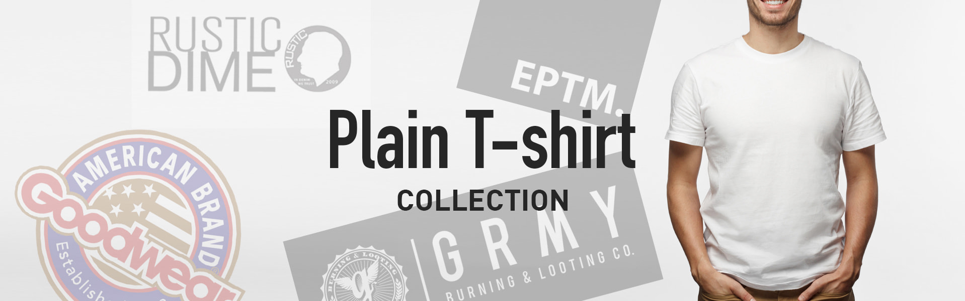 PLAIN TEE COLLECTION
