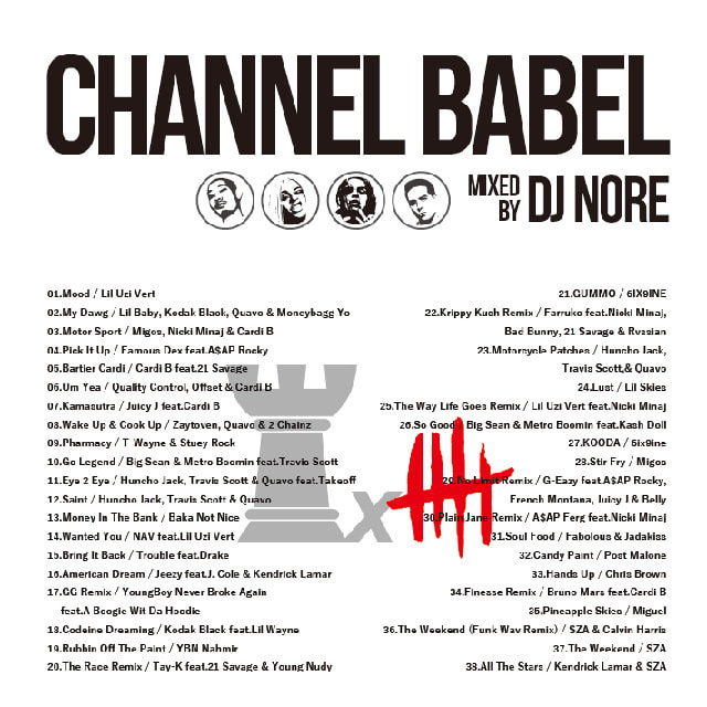 DJ NORE / CHANNEL BABEL5