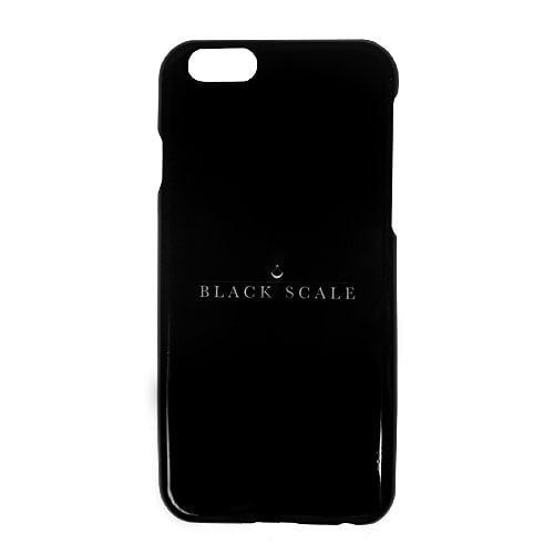 BLACK SCALE iPhone 6 CASE -TRADITIONAL LOGOTYPYE-