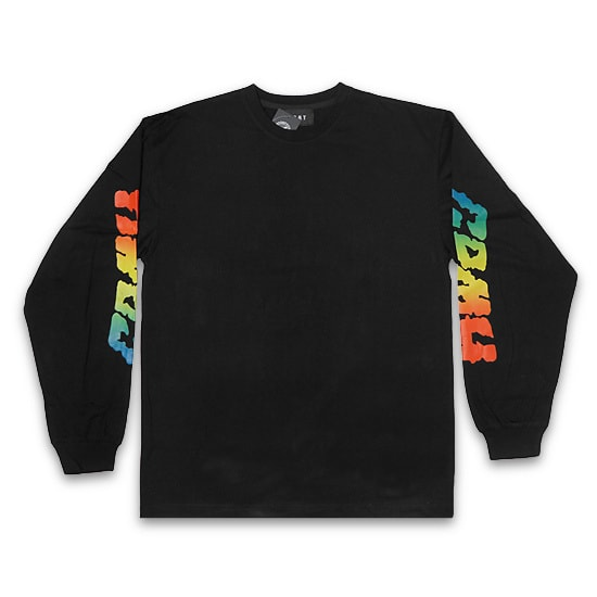 GRMY ロンT -LAUGHING BOY LONG SLEEVE TEE / BLACK -