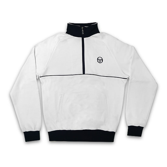 SERGIO TACCHINI ジャケット -ORION TRACKTOP HALF ZIP ARCHIVIO / WHITE / NAVY-