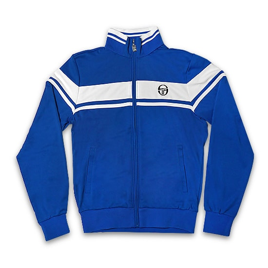 [SG002] SERGIO TACCHINI ジャケット -DAMARIND SWEATER ARCHIVIO / ROYAL / WHITE-