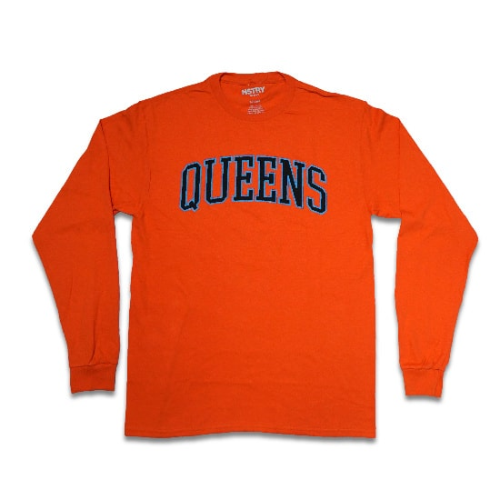 HSTRY ロンT -QUEENS ALWAYS L/S TEE / ORANGE-