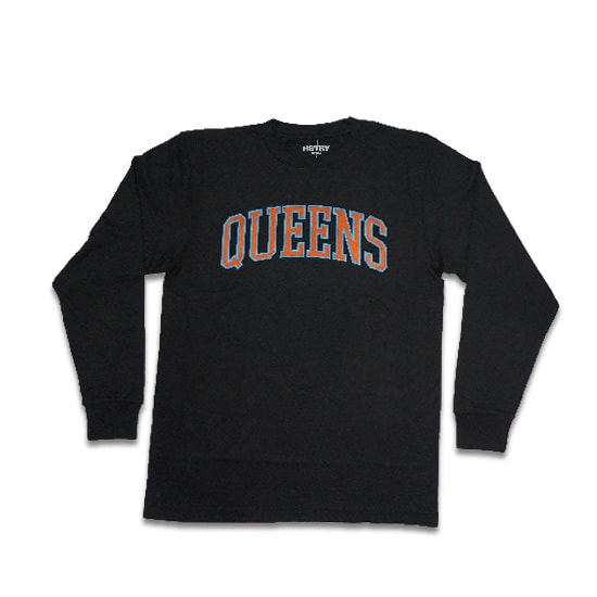 HSTRY ロンT -QUEENS ALWAYS L/S TEE / BLACK-