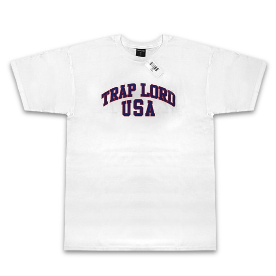 TRAP LORD Tシャツ-SALTE SS TEE WHITE-
