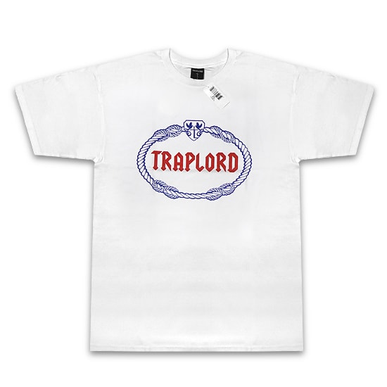 TRAP LORD Tシャツ-CREST SS TEE WHITE-