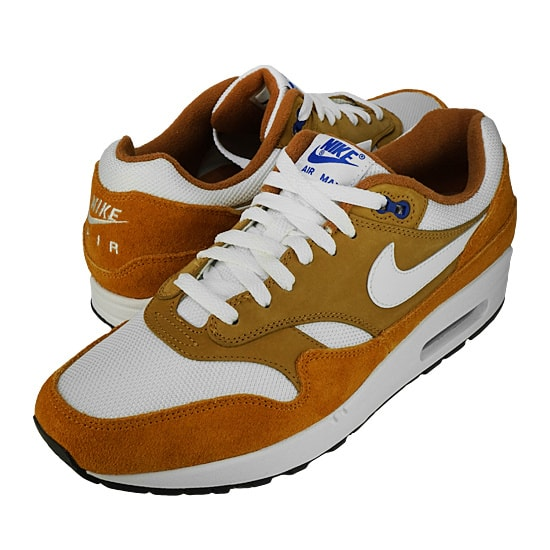 NIKE AIR MAX 1 PREMIUM RETRO -DARK CURRY/TRUE WHITE-