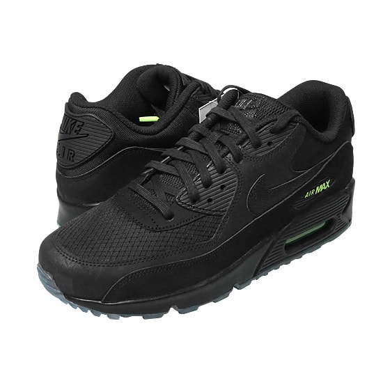 NIKE AIR MAX 90 -BLACK/VOLT-
