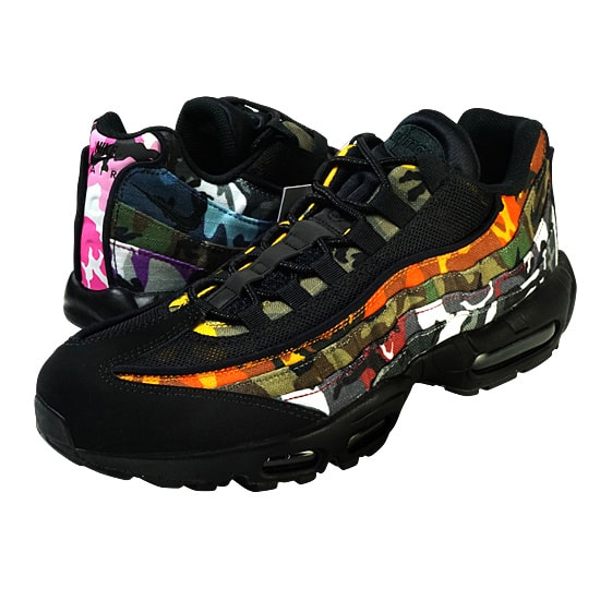 AIR MAX 95 ERDL PARTY -BLACK