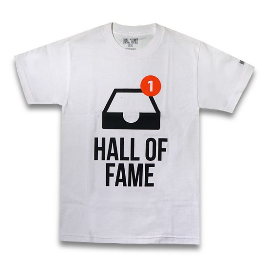 HALL OF FAME Tシャツ - WHITE -